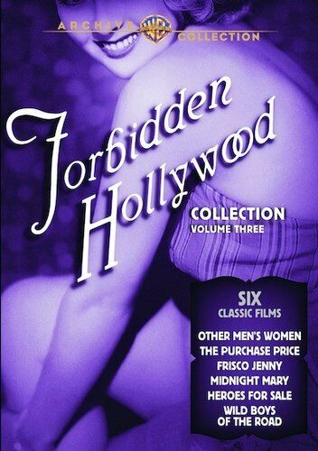Forbidden Hollywood Collection: Volume 3 (4 Disc) DVD NEW