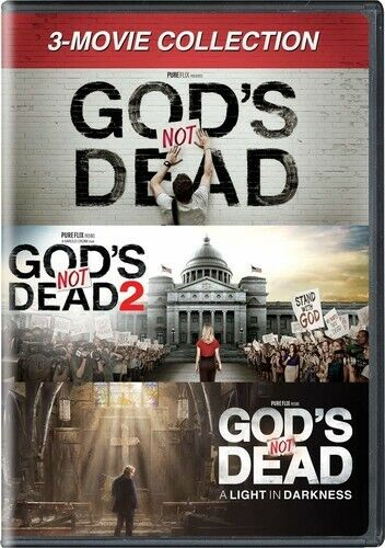 God's Not Dead Collection: 1 / 2 / 3: A Light in Darkness (3 Disc) DVD NEW