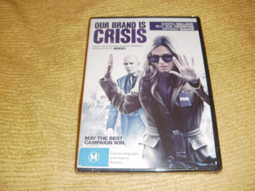 OUR BRAND IS CRISIS comedy 2015 DVD NEW & SEALED Sandra Bullock R4