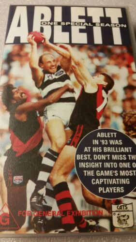 ABLETT ONE SPECIAL SEASON  VHS TAPE