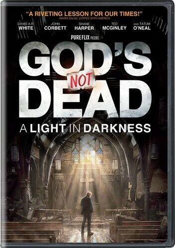 God's Not Dead 3: A Light in Darkness DVD NEW
