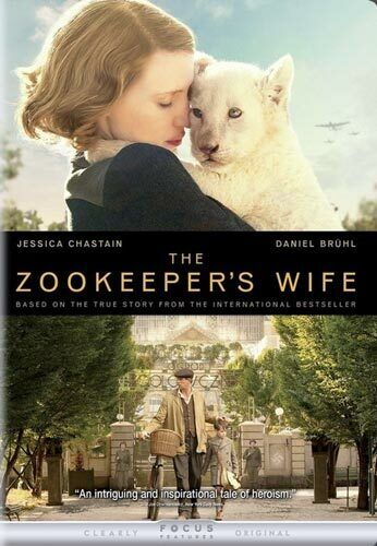 The Zookeeper's Wife DVD NEW