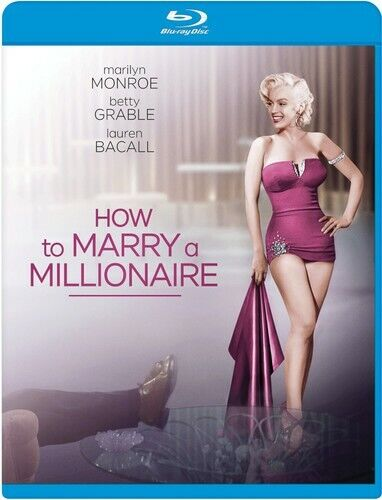 How to Marry a Millionaire BLU-RAY NEW