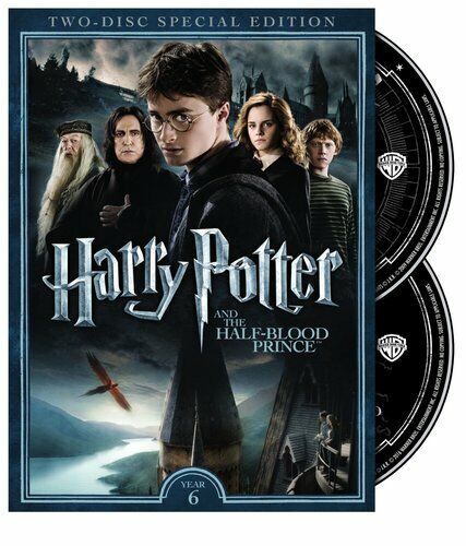 Harry Potter and the Half Blood Prince (2 Disc, Special Edition) DVD NEW