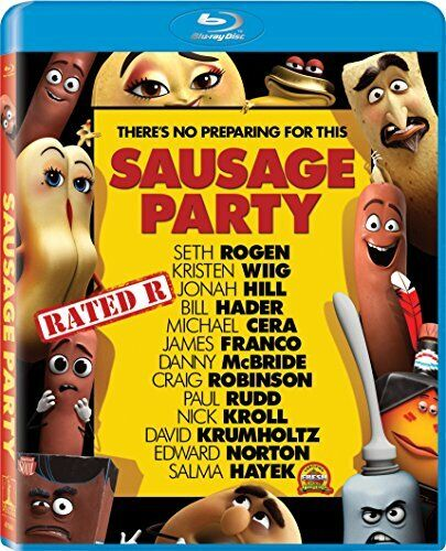 Sausage Party BLU-RAY NEW