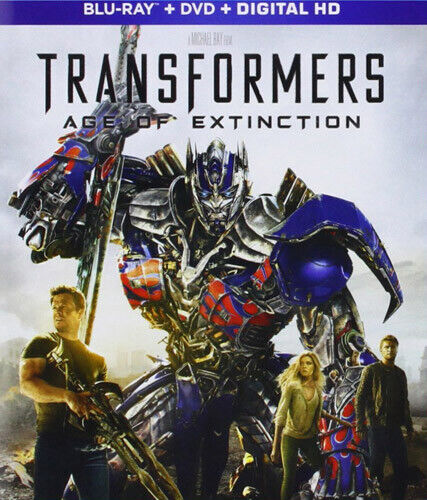 Transformers: Age of Extinction (3 Disc, Blu-ray + DVD) BLU-RAY NEW