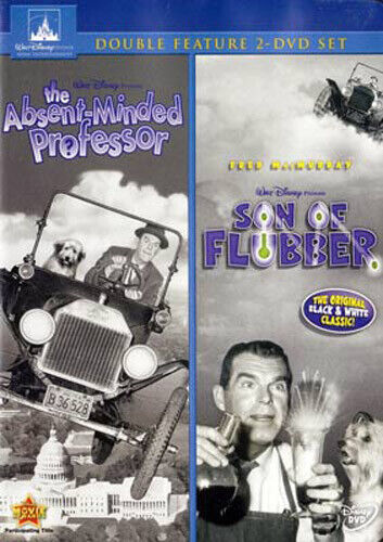 The Absent Minded Professor / Son of Flubber (2 Disc) DVD NEW