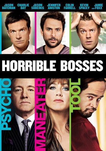 Horrible Bosses DVD NEW
