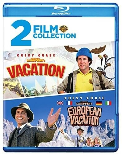 Vacation (1983) / European Vacation (National Lampoon's) (2 Disc) BLU-RAY NEW