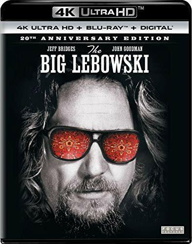 The Big Lebowski (2 Disc With Blu-ray, 20th Anniversary) 4K ULTRA HD BLU-RAY NEW