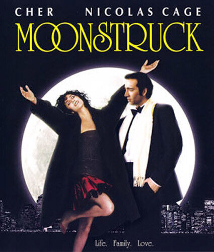 Moonstruck BLU-RAY NEW