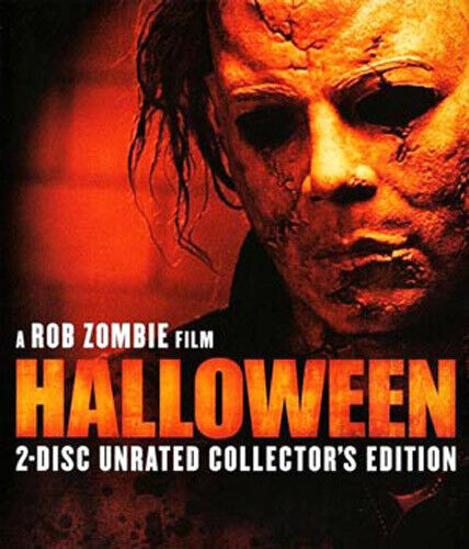 Halloween (2007 Malcolm McDowell) (Rob Zombie's) (2 Disc Collectors) BLU-RAY NEW