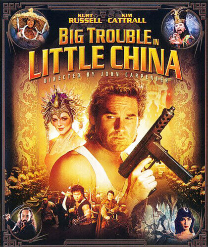 Big Trouble in Little China BLU-RAY NEW