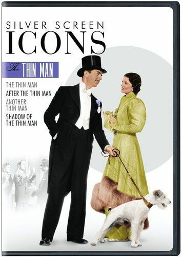 Silver Screen Icons: The Thin Man (4 Disc) DVD NEW