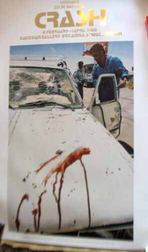 Damien Hirst Exhibition Poster Suicide Bomber (Aftermath) 39X27 Unsinged
