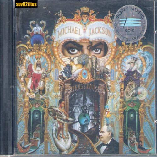 CD 1991 Michael Jackson DANGEROUS #1003