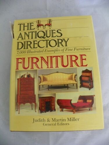 The Antiques Directory Furniture Book 7000 Illusttrations 639 Pages Hard Back