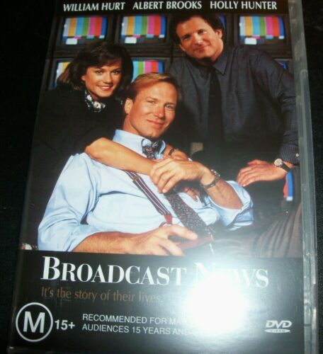 Broadcast News (William Hurt Holly Hunter) (Australia Region 4) DVD – Like New