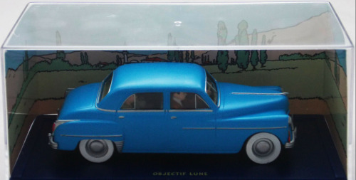 VOITURE DE COLLECTION TINTIN - LA DODGE, OBJECTIF LUNE / HERGE, MOULINSART