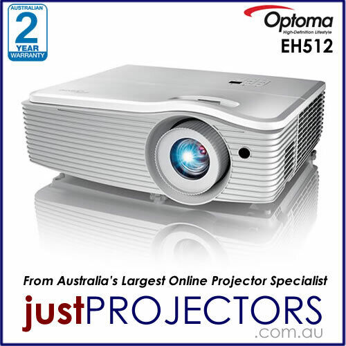 Optoma EH512 FULL HD 5000 Lumen Projector. Genuine Optoma Aussie Warranty