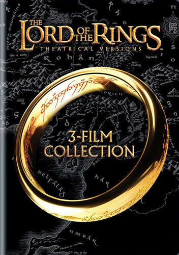 The Lord of the Rings Trilogy (3 Disc) DVD NEW