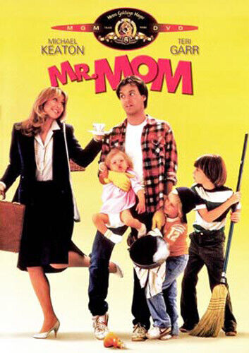 Mr. Mom (1983 Michael Keaton) DVD NEW