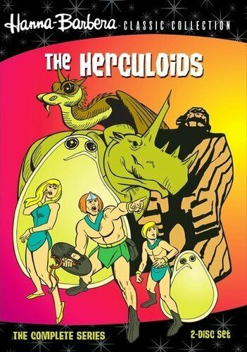 The Herculoids: The Complete Series (2 Disc) DVD NEW