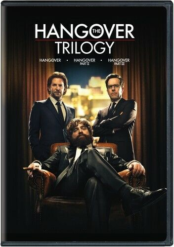 The Hangover Trilogy: Parts 1 / 2 / 3 (2 Disc) DVD NEW