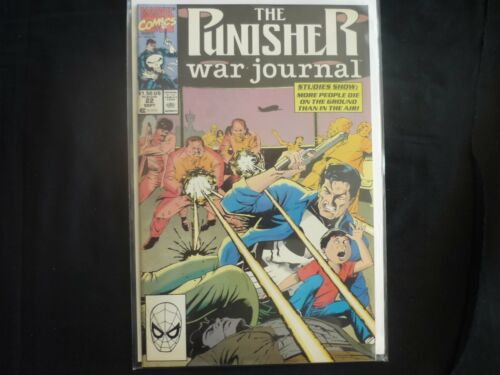 Punisher War Journal # 22 (b20) Marvel Fine 1990 VF+