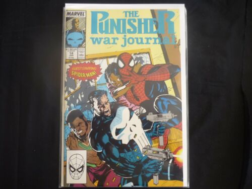 Punisher War Journal # 14 (b20) Marvel Fine 1990 VF