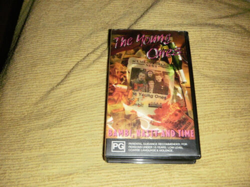 rare oop THE YOUNG ONES Bambi, Nasty And Time 1990 VHS from TV Series VIDEO PAL
