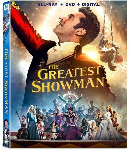 The Greatest Showman (2 Disc, Blu-ray + DVD) BLU-RAY NEW
