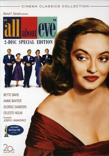 All About Eve (2 Disc, Special Edition) DVD NEW