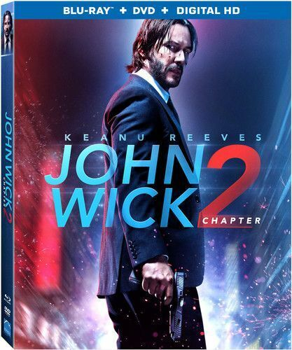 John Wick: Chapter 2 (2 Disc, Blu-ray + DVD) BLU-RAY NEW