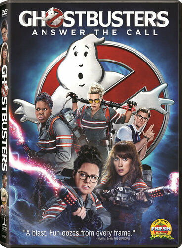 Ghostbusters (2016) DVD NEW