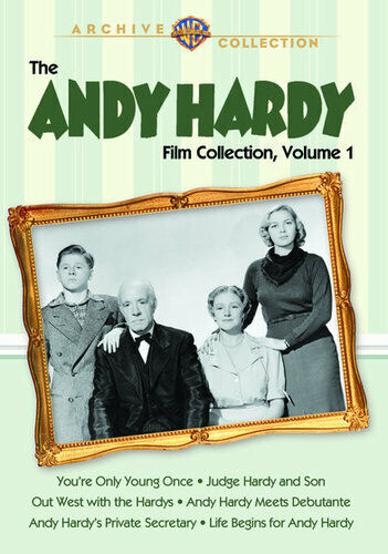 The Andy Hardy Film Collection: Volume 1: 6 Movies (6 Disc) DVD NEW