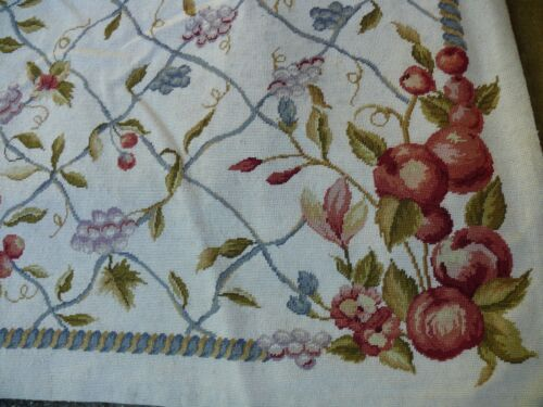 STARK CHANTILLY RUG Chinese 10 Mesh Needlepoint RUG 9x6 MSRP$3000+