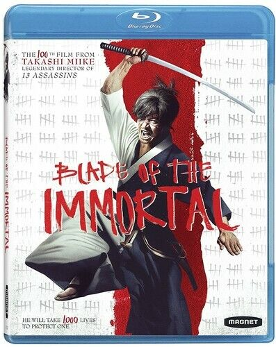 Blade of the Immortal BLU-RAY NEW
