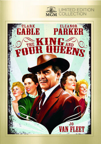 The King and Four Queens DVD NEW