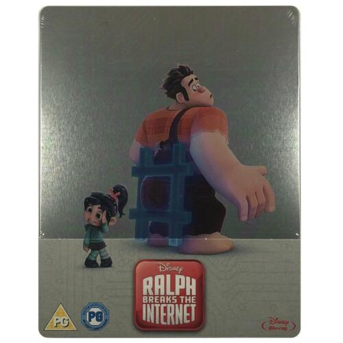 Ralph Breaks the Internet Steelbook - UK Exclusive Limited Edition Blu-Ray