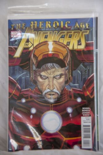 Marvel Comic The Avengers The Heroic Age Issue #4