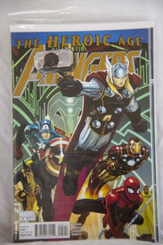 Marvel Comic The Avengers The Heroic Age Issue #5