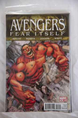 Marvel Comic The Avengers Fear Itself Issue #14