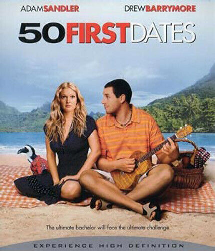 50 First Dates BLU-RAY NEW