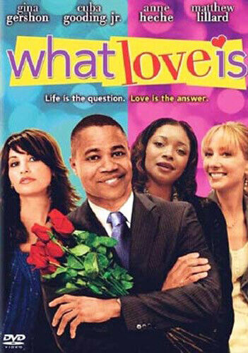 What Love Is DVD NEW