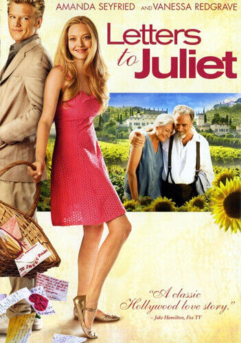 Letters to Juliet DVD NEW