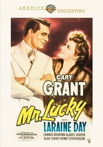 Mr. Lucky (1943 Cary Grant) DVD NEW