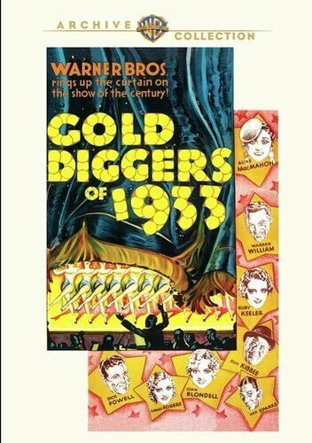 Gold Diggers of 1933 DVD NEW