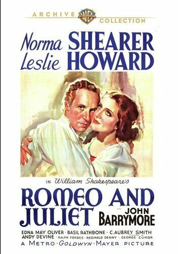 Romeo and Juliet (1936 Norma Shearer) DVD NEW