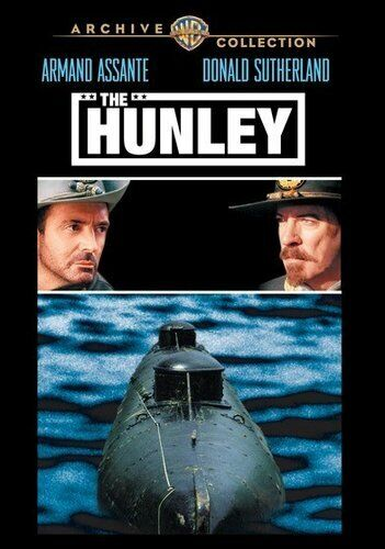 The Hunley (1999 Donald Sutherland) DVD NEW